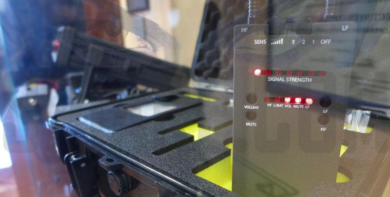 Rilevatore di Microspie per trovare microspie e cimici analogiche e digitali