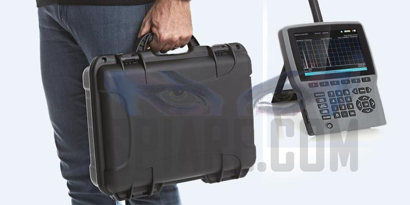 Rilevatore di Microspie professionale portatile e da tavolo con analizzatore di spettro per bonifica ambientale