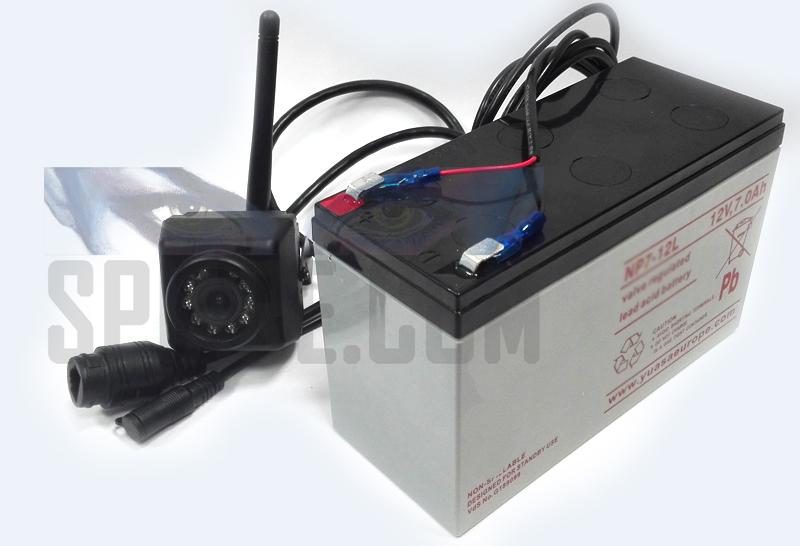 mini telecamera wifi da esterno alimentata con batteria esterna stagna ricaricabile
