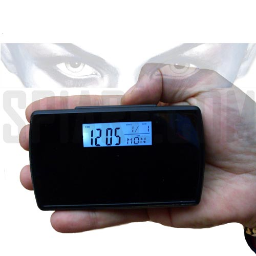 Orologio con telecamera spia videoregistratore memoria sd - Orologio digitale da tavolo ...